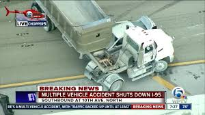 Dump Truck Crash Hampers I-95 Southbound In Lake Worth - YouTube Tctortrailer Jackknifes On I95 Brings Traffic To Stop Wjar Robert Ben Rhoades The Truck Stop Killer Deadly Day Connecticut Post Bikes Crash From Sb In South Carolina Near Rest I 95 Stops Bi Double You Trucks Are Lined Up Along A Truck As Truckers Take Break Straddles Jersey Wall Closes Lanes Wtvrcom Inrstate Virginia Wikipedia Overloaded Finally Moved Cranston Herald Nys Thruway Rest Stops Guide Restaurants Coffee Gas At Each Ups Big Rig Driver Capes Fiery Crash Near Iteam Reconstructs Deadly That Left 5 Dead Abc11com