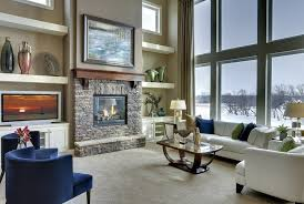 fireplace shelves decorating ideas living room contemporary with