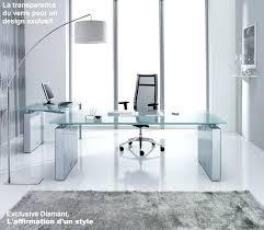 bureau metal verre bureau design verre metal la photo en situation bureau directorial