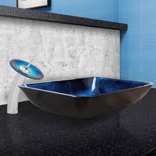 Home Depot Vessel Sink Mounting Ring by Vigo Industries Vgt055chrnd 18 25 Inch Rectangular Turquoise Water