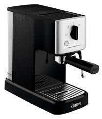 Calvi Espresso XP344040 Manual Machine 11L Black Metal