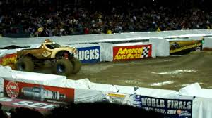 100 Donkey Kong Monster Truck Jam Anaheim 2010 Freestyle YouTube