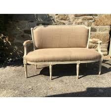 tapisser un canapé banquette ancienne canapé ancien sur proantic