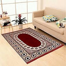 Chenille Carpet by Buy Zesture Bring Home Premium Velvet Touch Floral Chenille Carpet