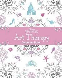 Disney Princess Art Therapy Colouring Book By Parragon Books Amazon