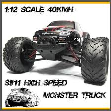 100 Discount Truck Wheels Foxx S911 Off Road Big Electric RC Car High Speed 40kmh