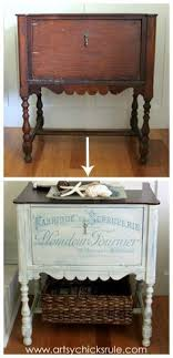 French Fabulous Cabinet Makeover Before After