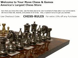 A Quick Summary Of The Rules Chess