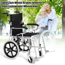 US $173.9 53% OFF|16 INCH 3 Color Luxury Blue Folding Wheelchair Light  Weight Manual Mobility Aid Park Brakes Push 250lbs-in Four Wheels Stroller  From ... Drive Medical Flyweight Lweight Transport Wheelchair With Removable Wheels 19 Inch Seat Red Ewm45 Folding Electric Transportwheelchair Xenon 2 By Quickie Sunrise Igo Power Pride Ultra Light Quickie Wikipedia How To Fold And Transport A Manual Wheelchair 24 Inch Foldable Chair Footrest Backrest