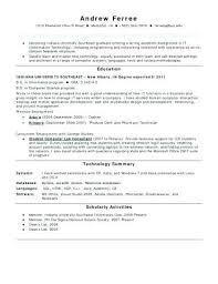 Manufacturing Technician Resume Sample For Elegant Pharmaceutical Samples Fresh Entry