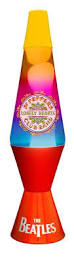 Spencers Rainbow Lava Lamp by Beatles Yellow Submarine Lava Lamp 1999 With Orig Box And