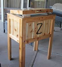 20 best wooden cooler diy images on pinterest wooden cooler