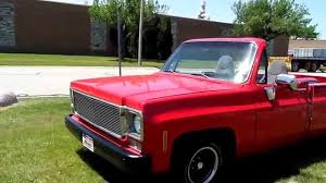 1975 CHEVROLET SIERRA CLASSIC CUSTOM PICK UP-CONVERTIBLE-SUMMER FUN ...