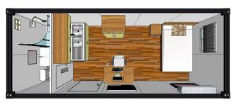 100 Shipping Container House Floor Plan 20 Foot S New 20ft Single Room