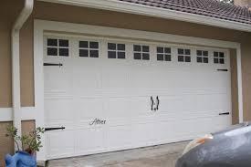 Faux Carriage Garage Door