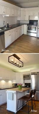 Before After New Kitchen Lighting For The Win By Design Fixation
