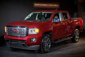2017 GMC Canyon Denali Drops In Ahead Of L.A. Auto Show Chevrolet Colorado Wikipedia Mvp Chevy Most Valuable Pickup To World Series A 2015 Gmc Canyon Longterm Review Byside With The Sierra 1000 Mile Mountain Review Hauling Atv Youtube Overview Cargurus Can It Steal Fullsize Truck Thunder Full Cains Segments Smallmidsize Sales In December And 2014 Tents Rightline Gear 2018 Midsize