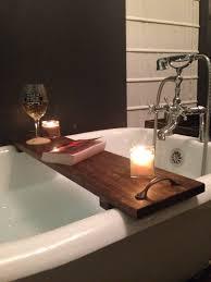 diy bathtub caddy with reading rack bathroom ergonomic bathtub caddy reading rack 137 image for