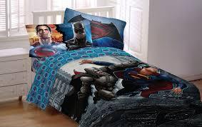 Amazon DC ics Batman vs Superman 4pc Bedding Set