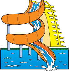 Pool Slide Clipart Bkmn