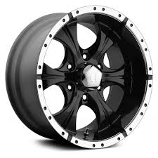 100 Helo Truck Wheels HE791 MAXX 16x8 0 6x1397 108 Black Rims Set Of 4