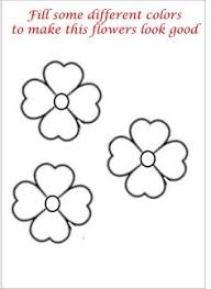 Sweet Inspiration Small Flower Coloring Pages Little Printable Page For Kids