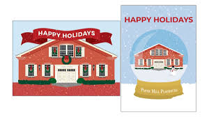 100 Paper Mill House Playhouse Holiday Cards
