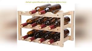 buy tyxl wine rack nordic massivholz weinregal weinregal