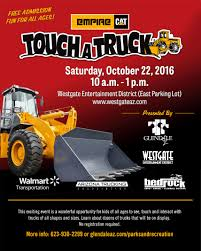 "Come ""Touch-a-Truck"" October 22 At Westgate! 