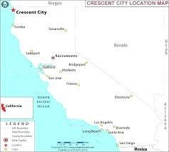 Northern Map With Cities Of And Towns California Maps