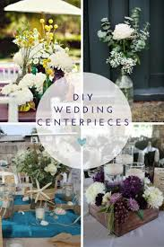 DIY Wedding Centerpieces Jewel Toned Table Arrangement