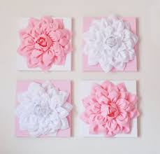 Flower Wall Art Decor 1000 Ideas About On Pinterest Paper Pictures