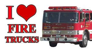 100 Fire Truck By Ivan Ulz I LOVE FIRE TRUCKS YouTube