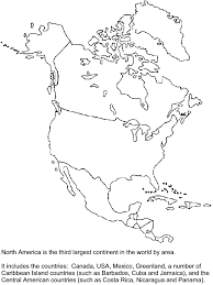 Northamerica Countries Coloring Pages