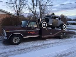 100 Ramp Truck Car Hauler 1974 Ford Wedge Bed Classic Drag Racing