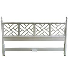 Bamboo Headboard And Footboard by Hollywood Regency Chinoiserie Faux Bamboo King Headboard At 1stdibs