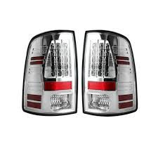 Clear Lens | After Market LED Tail Lights | Dodge Ram 09-14 | RECON ...