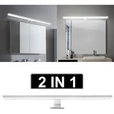 led badezimmer beleuchtung bad spiegel leuchte aufbau le