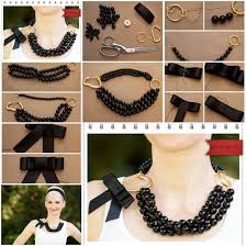 How To Make Necklace Of Beads Or Pearl Step By DIY Tutorial Instructions Do Diy Crafts It Yourself Website