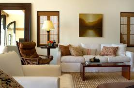 Home Decorating With Brown Couches by Spanish Colonial Beach House In Santa Monica Interior Design