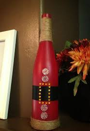 Decorative Wine Bottles Crafts by Santa Wine Bottle You Could Make This Easily Diy Christmas Gift