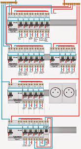 schema electrique raccordement d un tableau electrique