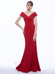 mermaid v neck ruched floor length evening dress mermaid and