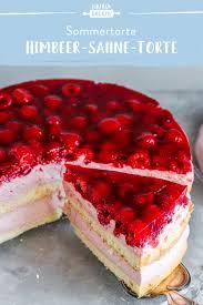 himbeer sahne torte einfaches rezept