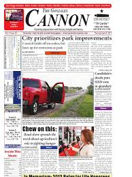 Gonzales Cannon April 4 Issue | Gang | Burglary