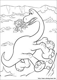 The Good Dinosaur Online Coloring Pages Printable Book For Kids 2