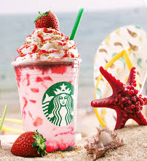 CGI Starbucks Strawberry Frappuccino On Behance