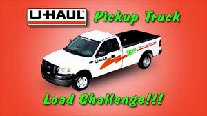 100 U Haul 10 Foot Truck Pickup Load Challenge YouTube
