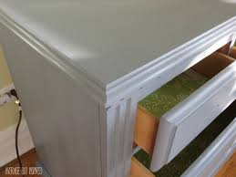 Americana Decor Creme Wax Deep Brown by Dresser Makeover With Americana Decor Chalky Finish Paint