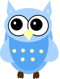 Blue Baby Owl Clip Art at Clker vector clip art online